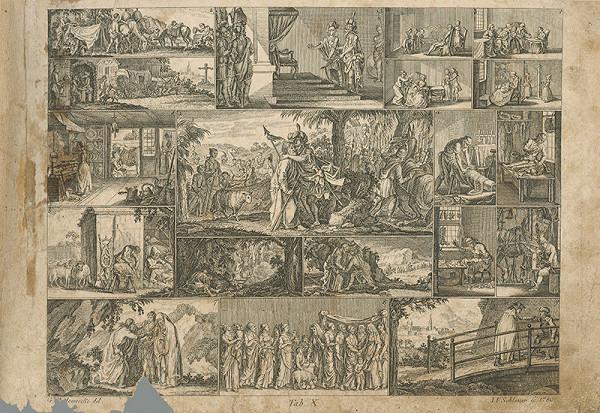 Johann Friedrich Schleuen, Gottfried Chodowiecki – Privítanie Jozefa