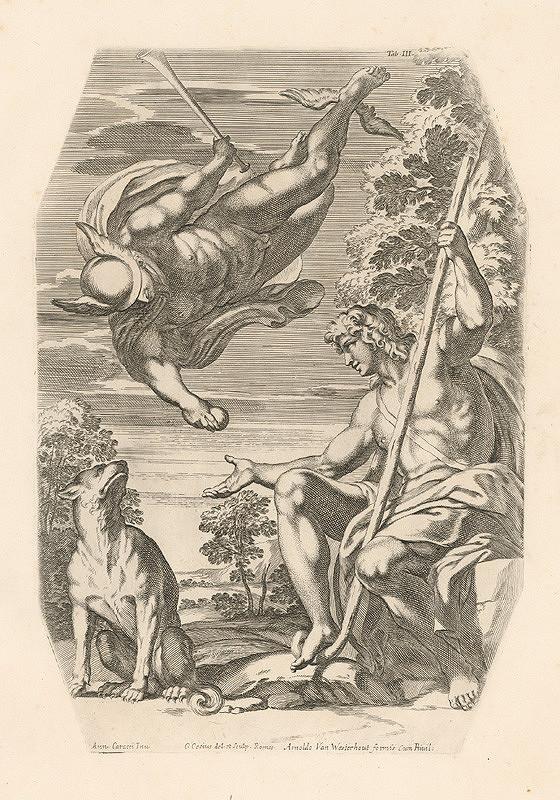 Carlo Cesio, Annibale Carracci - Pan a Diana,Tab.IV.