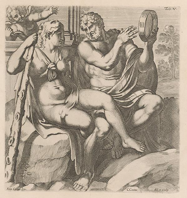 Carlo Cesio, Annibale Carracci - Herkules a Jola