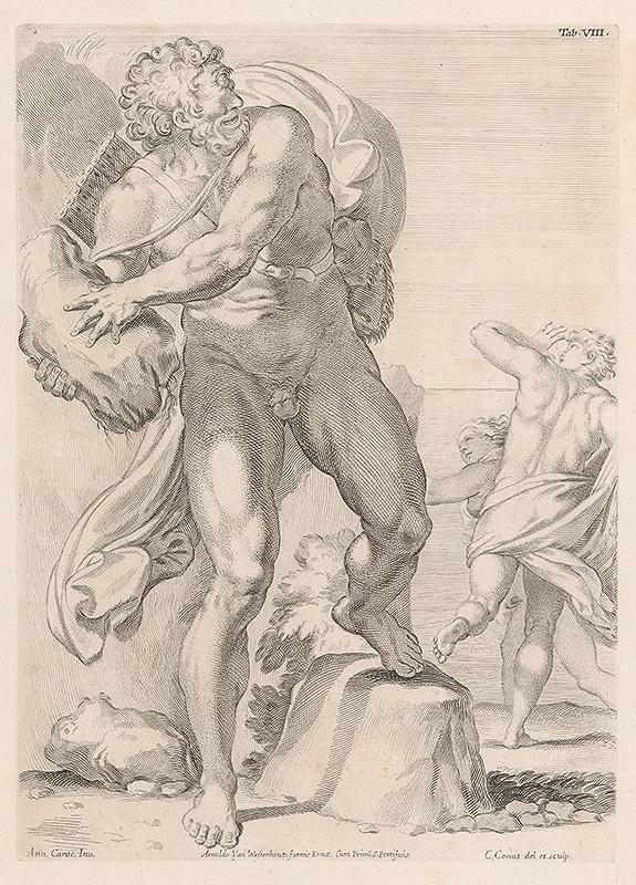 Carlo Cesio, Annibale Carracci - Polyphemus,Tab.VIII.