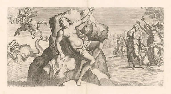 Carlo Cesio, Annibale Carracci - Perseus a Andromeda,Tab.XI.