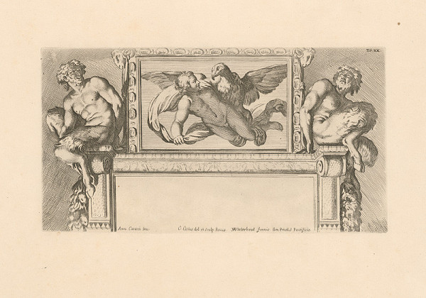 Carlo Cesio, Annibale Carracci – Sup,Tab XX.