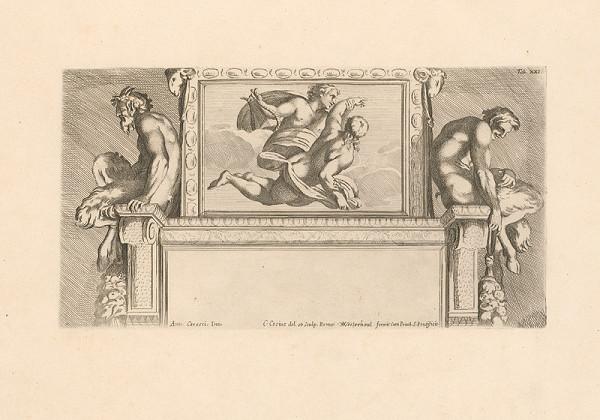 Carlo Cesio, Annibale Carracci – Apolón unáša Hyacintu do neba,Tab.XXI.