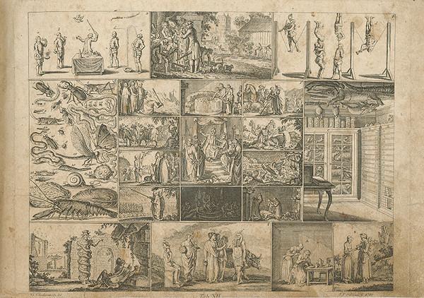 Johann Friedrich Schleuen, Gottfried Chodowiecki – Mojžišove zázraky