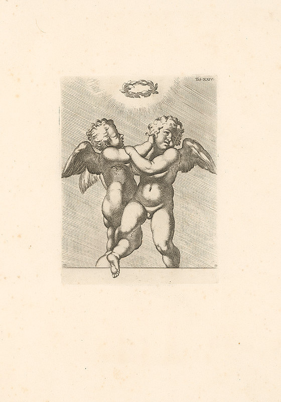 Carlo Cesio, Annibale Carracci – Putti,Tab.XXIV.
