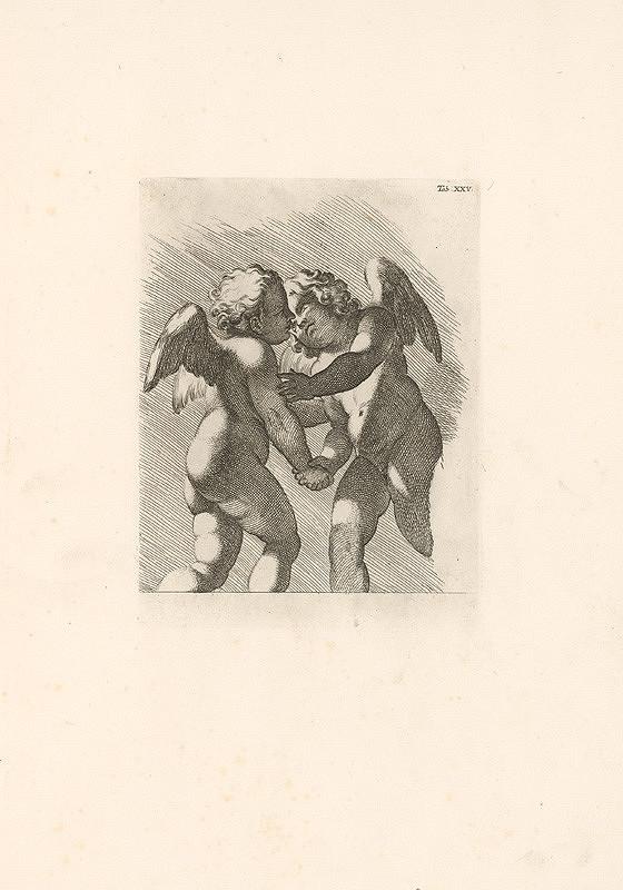 Carlo Cesio, Annibale Carracci – Putti,Tab.XXV.