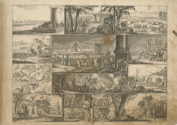 Johann Friedrich Schleuen, Gottfried Chodowiecki – Sedem rán egyptských