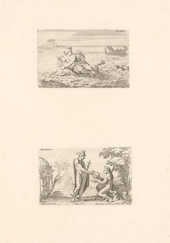 Carlo Cesio, Annibale Carracci – Afrodita,Merkur,Tab.XXVI.1.,Tab.XXVI.2.