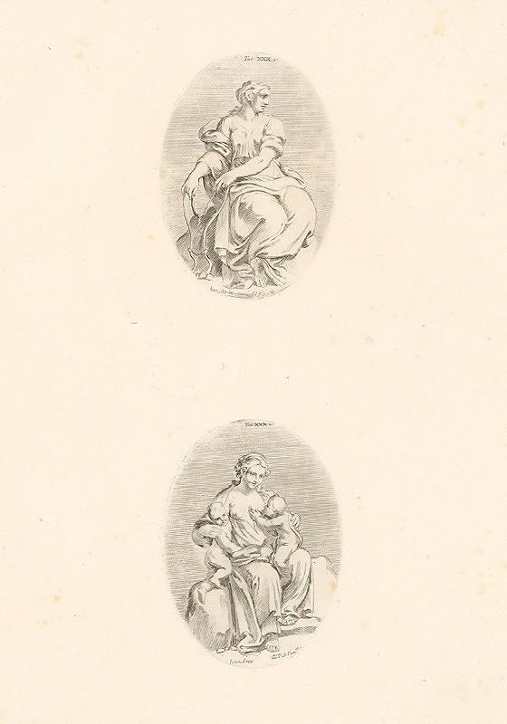 Carlo Cesio, Annibale Carracci - Miernosť. Charitas.Tab.XXX.1.a2.