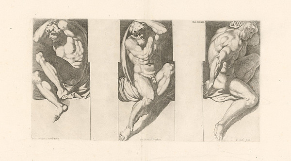 Carlo Cesio, Annibale Carracci – Atlanti,Tab.XXXII.