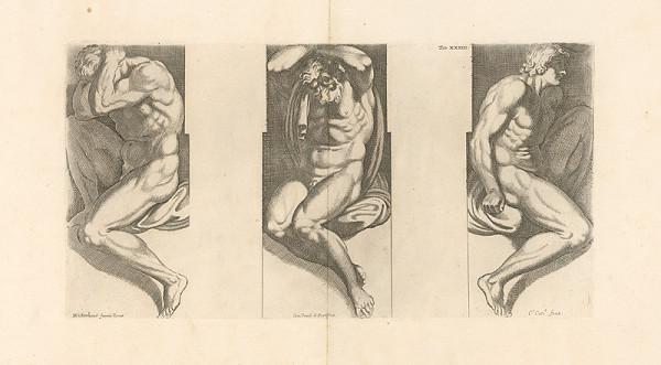 Carlo Cesio, Annibale Carracci – Atlanti,Tab.XXXIII.
