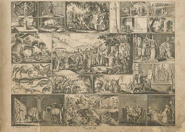 Johann Carl Bock, Gottfried Chodowiecki – Zlaté teľa