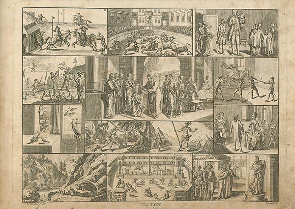 Johann Rudolf Schellenberg, Johann Georg Penzel – Krst