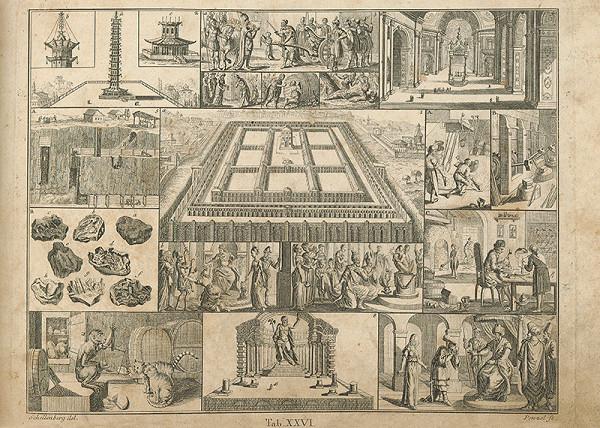 Johann Rudolf Schellenberg, Johann Georg Penzel – Šalamúnov súd