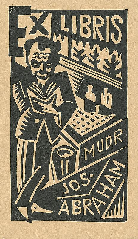 Ľudovít Fulla – Ex libris Mudr.Josefa Abrahama