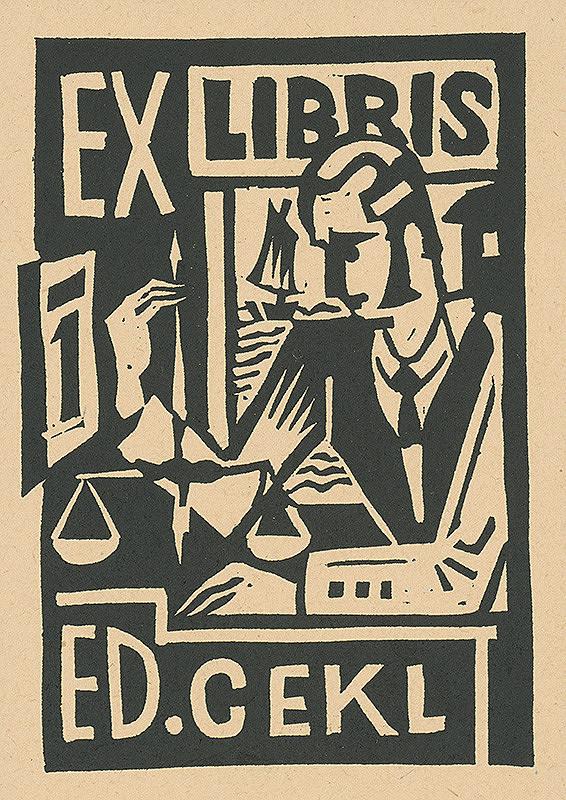Ľudovít Fulla - Ex libris Ed.Cekla
