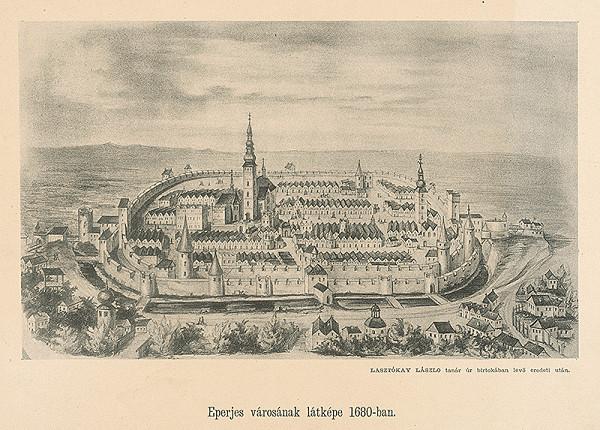 Maďarský autor z 2. polovice 19. storočia – Pohľad na Prešov
