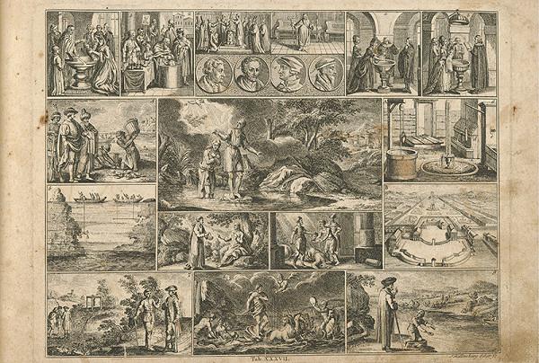 Johann Rudolf Schellenberg - Kristov krst