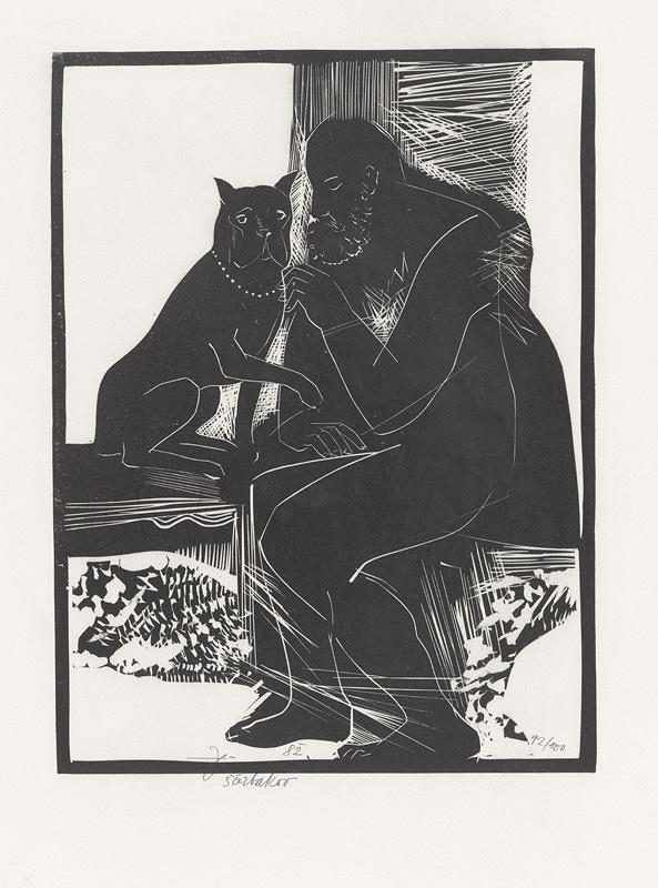 Jiří Ščerbakov – Muž so psom