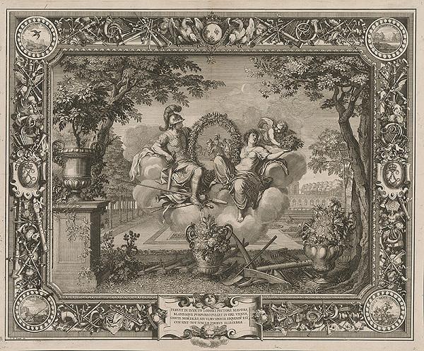 Charles le Brun, Sebastien Le Clerc st. – Oslava vojenských víťazstiev Ľudovíta XIV.