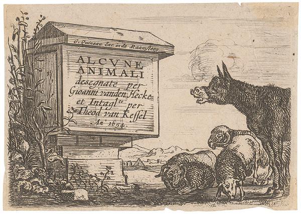 Theodor van Keffel, Giovanni van den Hecke - Alcune Animali