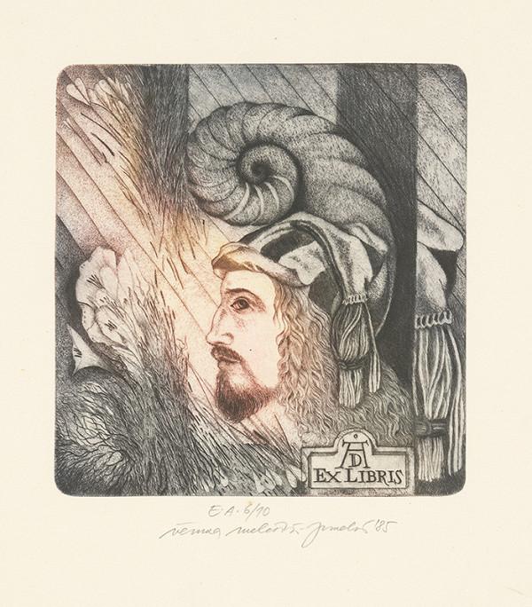Věruna Melčáková-Juneková - Ex libris Albrecht Dürer