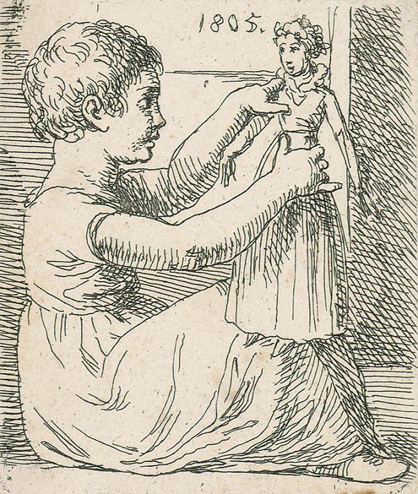 Josef Bergler ml. – Dievčatko s bábikou