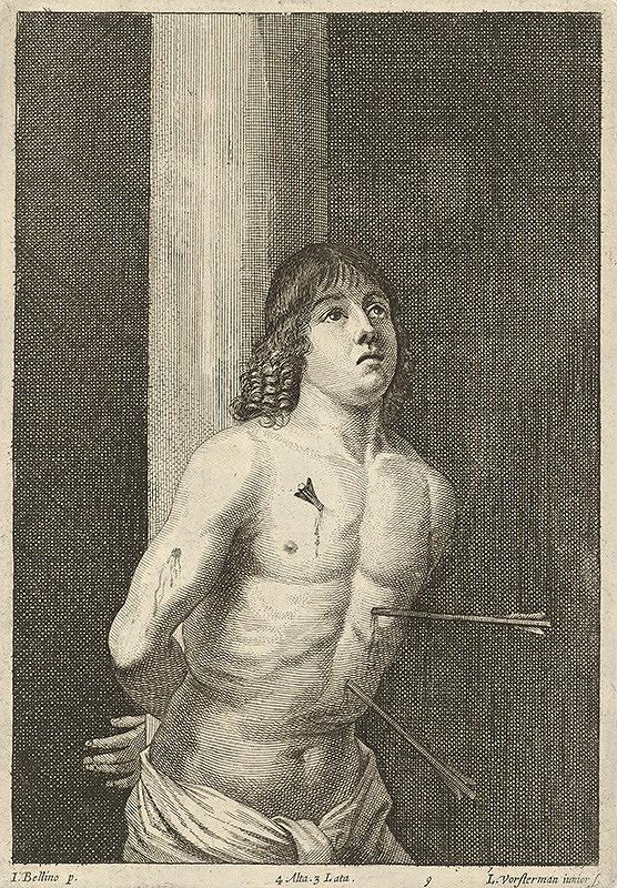 Lucas Vorsterman, Giovanni Bellini, David Teniers ml. - Svätý Sebastián
