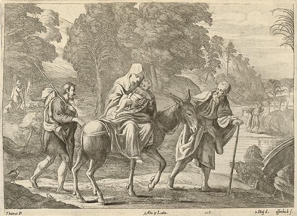 Nikolaus van Hoy, Jan van Ossenbeck, Jacopo Tintoretto – Útek do Egypta