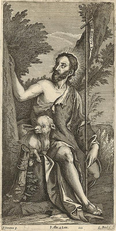 Paolo Veronese, Quirin Boel, David Teniers ml. - Svätý Ján Krstiteľ