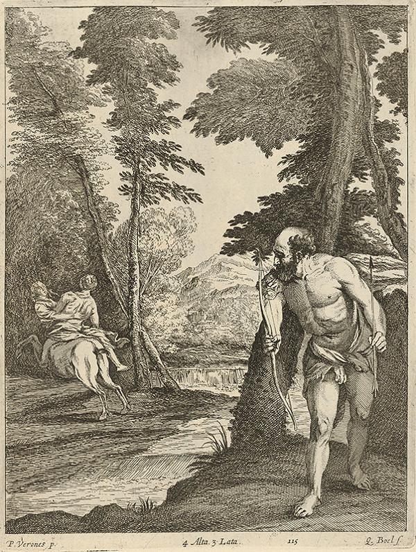 Paolo Veronese, Quirin Boel, David Teniers ml. - Herkules a únos Dejaneiri