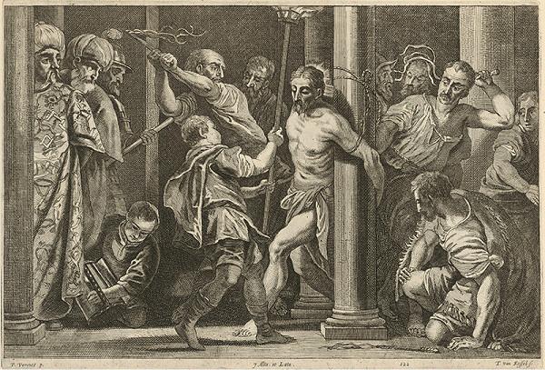 Paolo Veronese, Théodorus van Kessel, David Teniers ml. - Bičovanie Krista