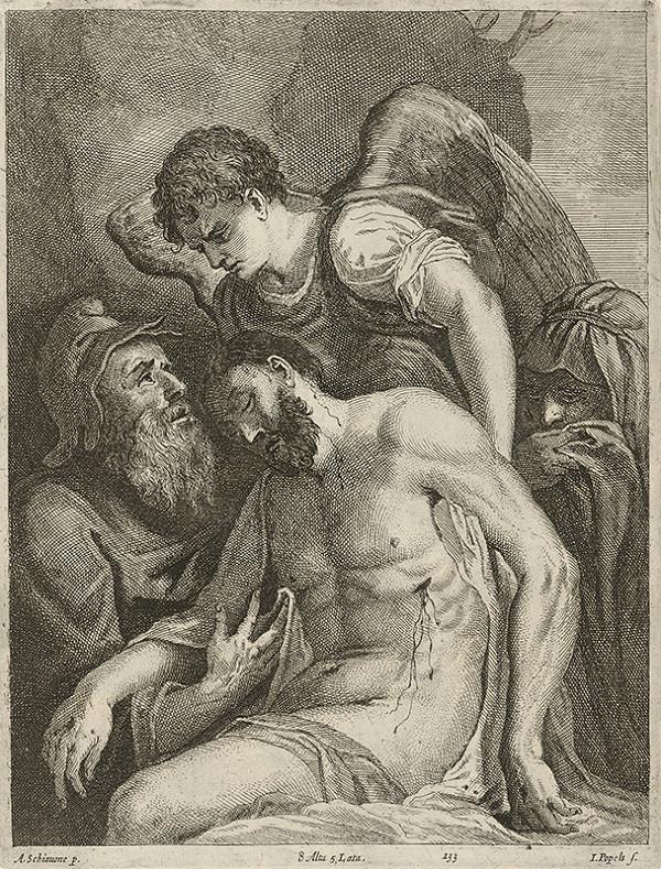 Jan Popels, Andrea Schiavone, David Teniers ml. – Oplakávanie