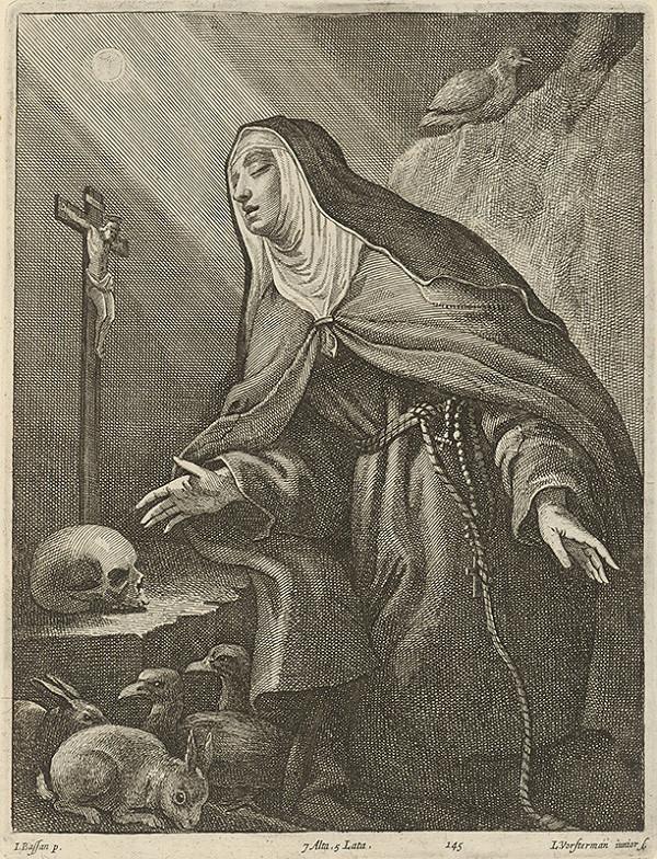 Jacopo Bassano, Lucas Vorsterman ml., David Teniers ml. – Svätica