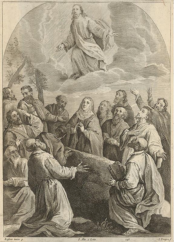 Jan van Troyen, Francesco Bassano II., Leandro Bassano, David Teniers ml. – Nanebovstúpenie Krista