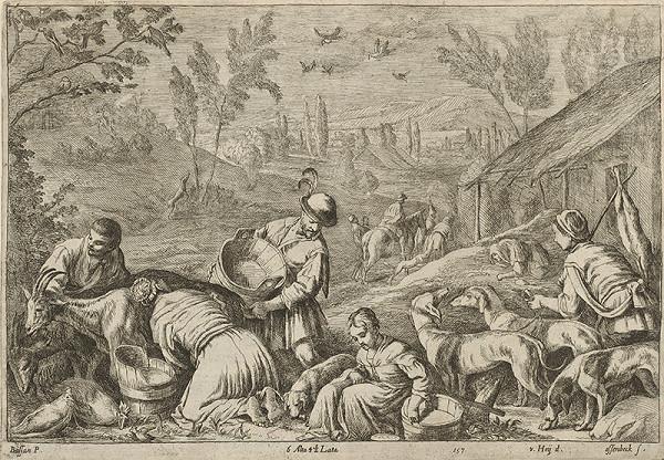 Francesco Bassano II., Leandro Bassano, Nikolaus van Hoy, Jan van Ossenbeck – Jar - štyri ročné obdobia