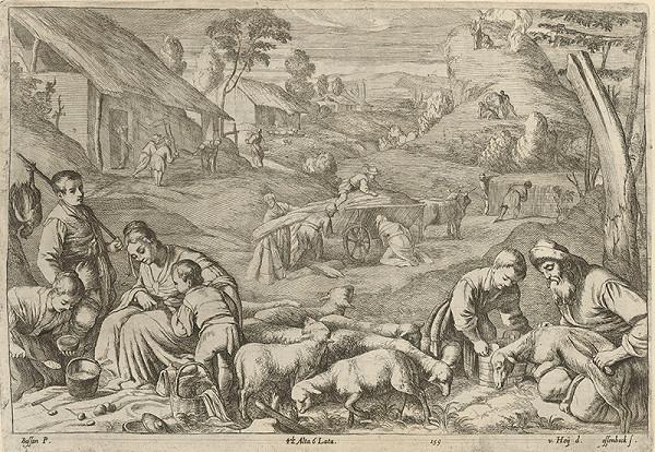 Nikolaus van Hoy, Jan van Ossenbeck, Francesco Bassano II. - Leto - štyri ročné obdobia