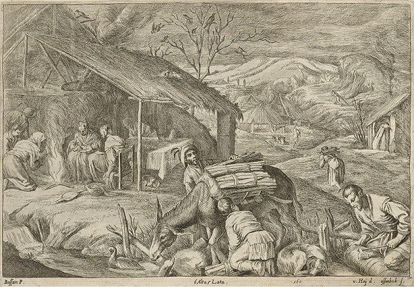 David Teniers ml. – Zima - štyri ročné obdobia