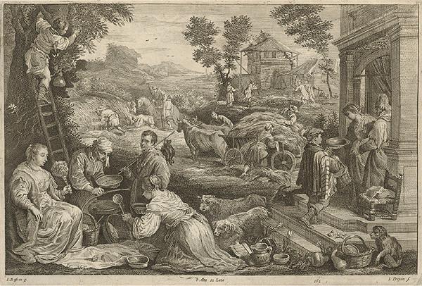 Jacopo Bassano, Jan van Troyen, David Teniers ml. – Leto - štyri ročné obdobia