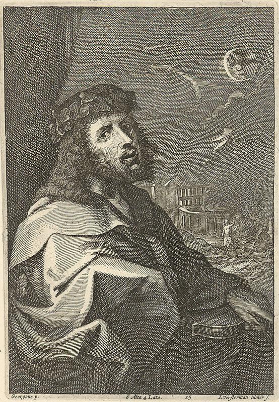 Giorgione, David Teniers ml., Lucas Vorsterman - Bakchus
