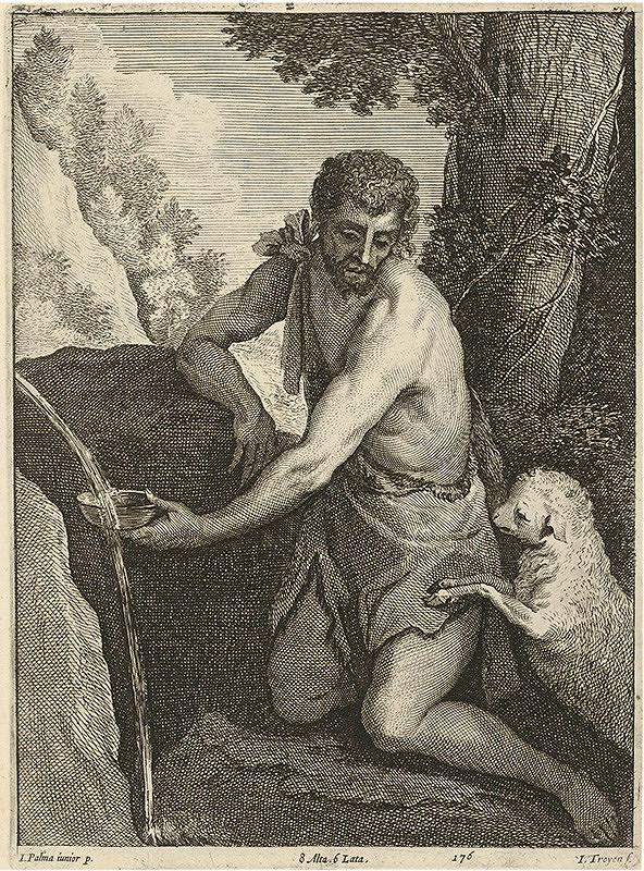 Jacopo, il giovane Palma, Jan van Troyen, David Teniers ml. - Svätý Ján Krstiteľ