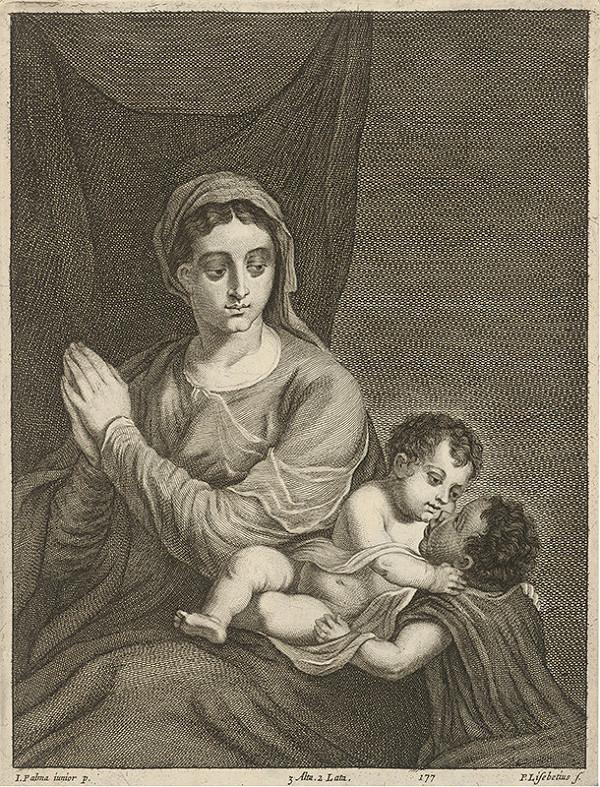Jacopo, il giovane Palma, Peter Lisebetius, David Teniers ml. - Madona s malým Jánom Krstiteľom