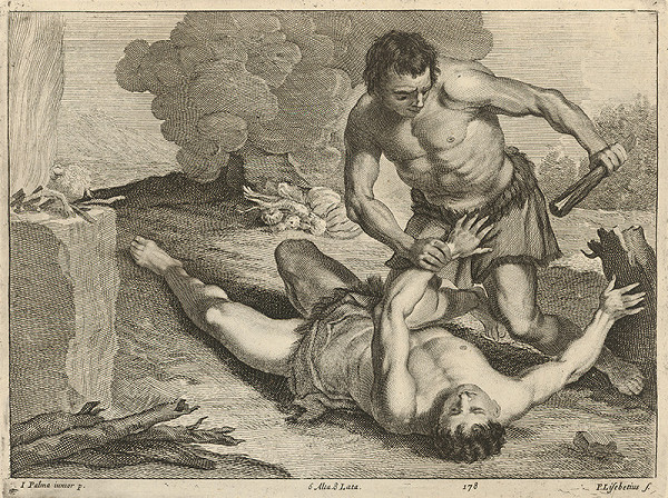 Peter Lisebetius, Jacopo, il giovane Palma, David Teniers ml. – Káin zabíja Ábela