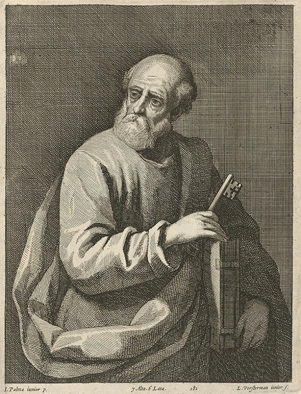 Jacopo, il giovane Palma, Lucas Vorsterman ml., David Teniers ml. - Svätý Peter