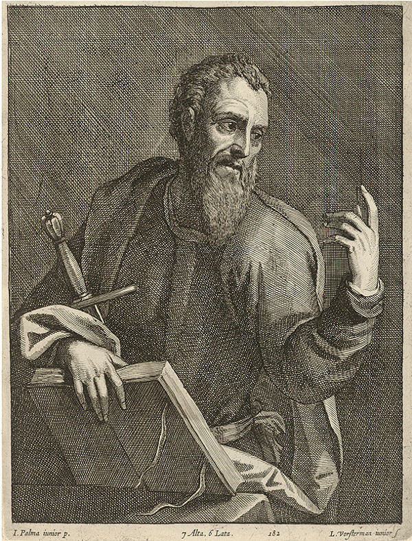 Jacopo, il giovane Palma, Lucas Vorsterman ml., David Teniers ml. – Svätý Pavol