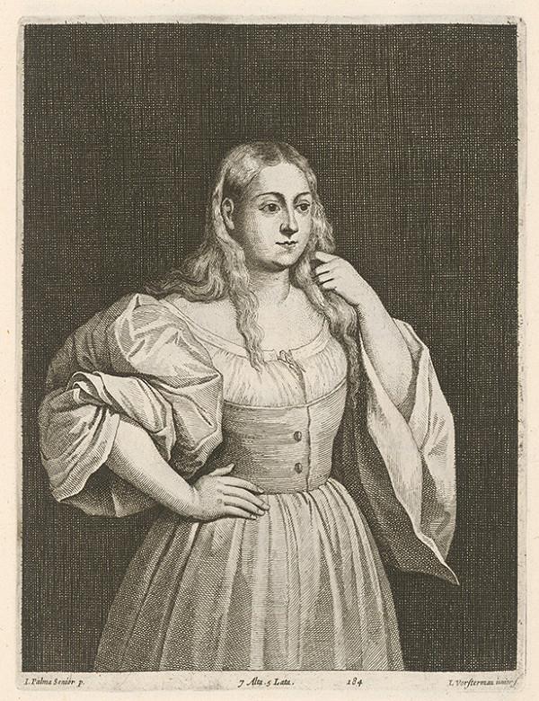 Jacopo, il vecchio Palma, Lucas Vorsterman ml., David Teniers ml. – Portrét dievčaťa