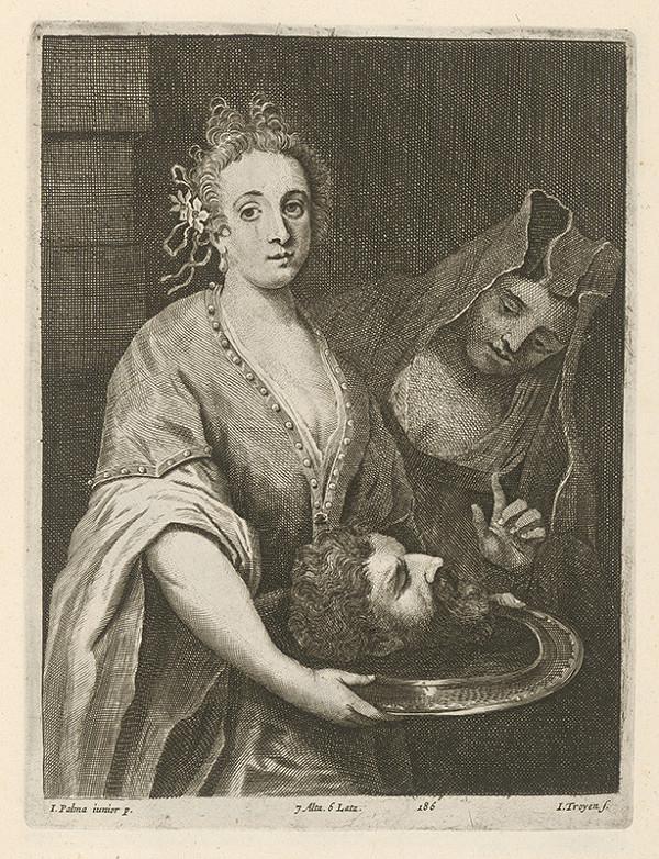 Jacopo, il giovane Palma, Jan van Troyen, David Teniers ml. – Salome s hlavou Jána Krstiteľa