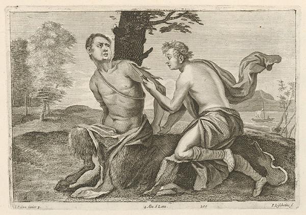 Jacopo, il giovane Palma, Peter Lisebetius, David Teniers ml. - Apolón trestá Marsya