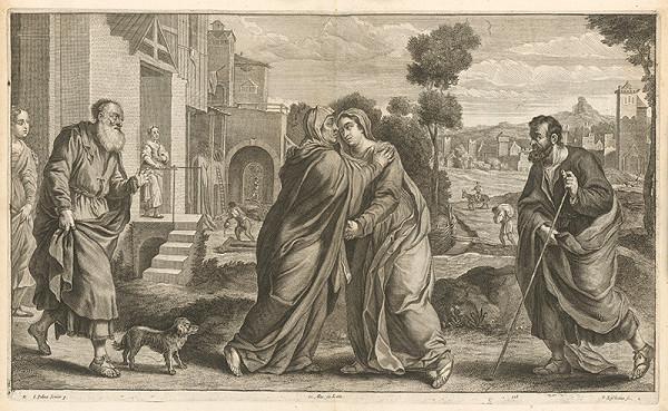 Jacopo, il giovane Palma, Peter Lisebetius, David Teniers ml. - Navštívenie - so svätým Zachariášom a Jozefom