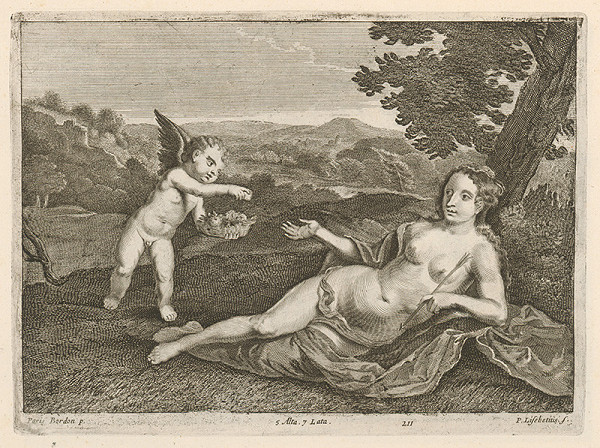 Peter Lisebetius, Paris Bordone, David Teniers ml. - Venuša s malým Amorkom